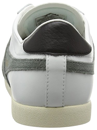 Gola Men's Bullet Suede Fashion Sneaker White/Grey Leather cheap sale clearance store sale wholesale price cheap sale release dates For sale online IFY633AYp