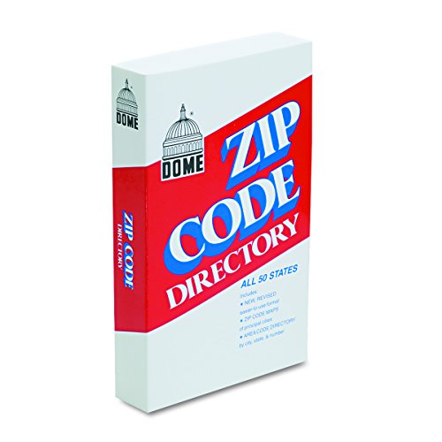 Dome 5100 Zip Code Directory, Paperback, 750 Pages]()