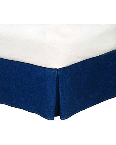 Denim Bedskirt Queen (American Denim Bed Skirt Size: Queen)