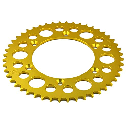 (Nathan-Ng - 520 47T Motorcycle Rear Sprocket For BMW Xchallenge Xcountry 650 2007 2008 )