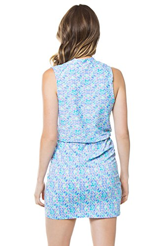 Helen Jon Women's Seaglass Dress Swim Cover Up Seaglass S by Helen Jon (Image #1)
