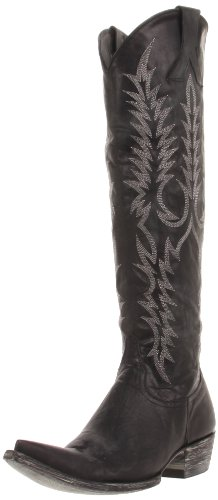 Old Gringo Womens Mayra Boot Vesuvio Nero