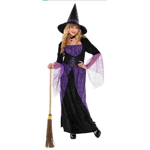 Amscan 841209 Teen Potion Witch Costume - Junior, Small, Black -