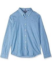 Tommy Hilfiger Boys' Stretch Chambray Shirt
