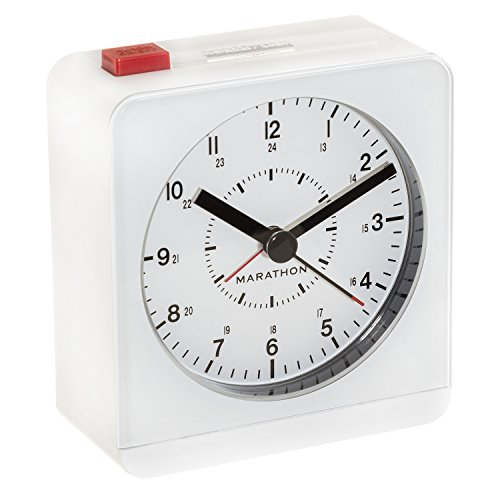 MARATHON CL030053WH Analog Alarm Auto Night product image