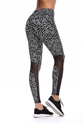 Jimmy Design Pro entrenamiento de la mujer running yoga medias Varios colores - Mosaïque