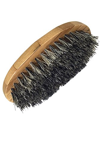 wooden boar hair bristle beard brush by leven rose perfect for a beard grooming kit for men. Black Bedroom Furniture Sets. Home Design Ideas