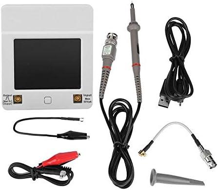 ポケットオシロスコープ、DSO112A 2MHz 5MspsポケットUSBデジタルストレージオシロスコープTFTタッチスクリーンX1N7電気技師用品USBオシロスコープ