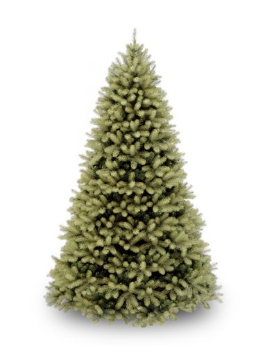 National Tree 7.5 Foot Feel Real Downswept Douglas Fir Tree, Hinged (PEDD1-503-75)