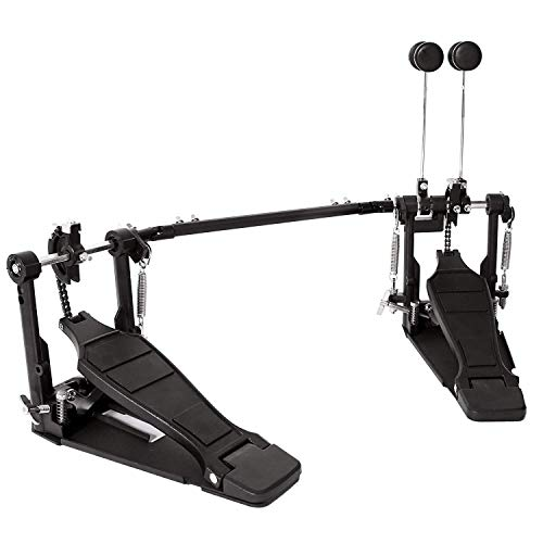 Drum Pedal Double Bass Dual Foot Kick Pedal Percussion Single Chain Drive from Unknown