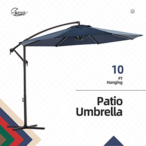 wikiwikifset Umbrella 10ft Cantilever