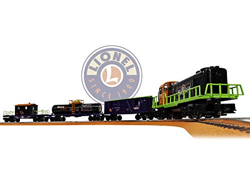 - Lionel End of The Line Express Electric O Gauge Model Train Set w/ Remote and Bluetooth Capability