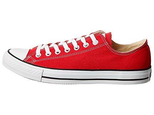 Konversera Unisex Kastar Taylor All Star Oxe Sneaker (5,5 Män 7,5 Kvinnor, Röd)