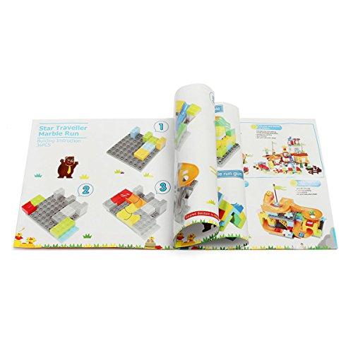 FUNTOK Marble Run Railway Construction Toys Star Travel Game 36pcs Building Blocks Toys for Child by FUNTOK (Image #1)