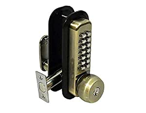 All Weather Mechanical Keyless Deadbolt Door Lock