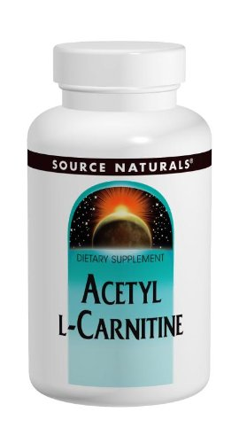 Source Naturals Acetyl L-Carnitine 250mg, Anti-Aging Brain Nutrient, 120 Tablets