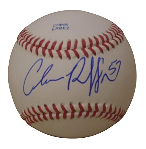 - Seattle Mariners Chance Ruffin Autographed Hand Signed Baseball with Proof Photo of Signing, Detroit Tigers, COA