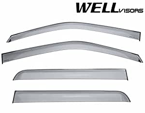 Amazon Com Wellvisors Side Window Wind Deflector Visors