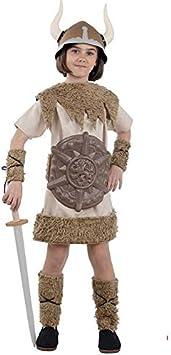 DISBACANAL Disfraz de Vikinga para niña - -, 6 años: Amazon.es ...