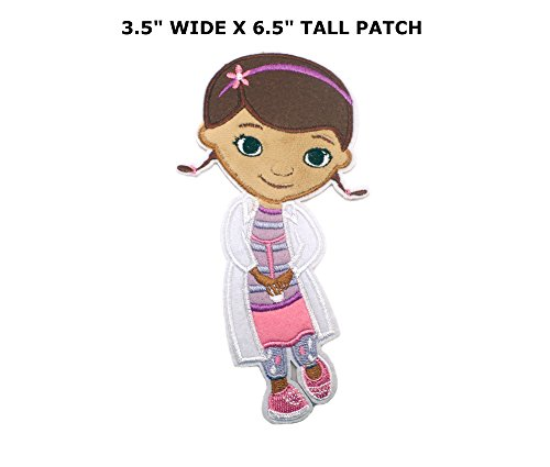 Cartoon Girl Doc McStuffins Iron or Sew-on