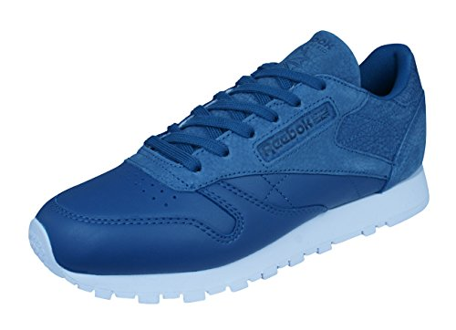Reebok Classic Bleu Later Chaussures Leather You Sea Femme Baskets rqt8xrH