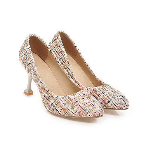 Sandales 36 Rose 5 Compensées APL10595 Rose Femme BalaMasa 7nHa5x6Wqx