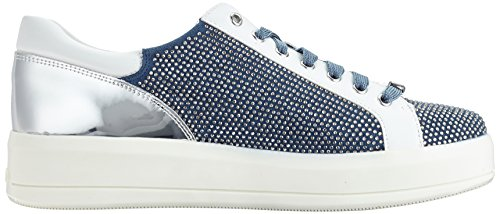 Jo nuova Sneakers cassetta camoscio 10602 estate primavera collezione a con e strass B18019T2030 fdo rose in pieni Liu 2018 pelle q1dRwZxq