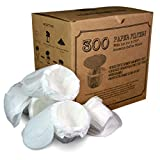 canFly Disposable K-CUP Paper filter with Lid for Keurig single cup coffer filters compatible with Ekobrew, EZ-Cup and other Reusable K-CUP Filters (300 Count)