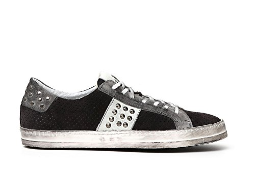 Cafè Noir KPC635 Sneaker Laces Perforated Cross 277 Antracite HjTSY3glo