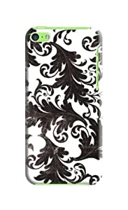 MEIMEIBlack floral and white background case cover case mate iphone 6 4.7 inch iphone 6 4.7 inch W Tong (Our products can DIY)MEIMEI