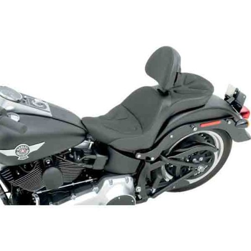 Saddlemen Explorer G-Tech Seat - Memory Foam and Fabric with Driver Backrest 806-12-03011