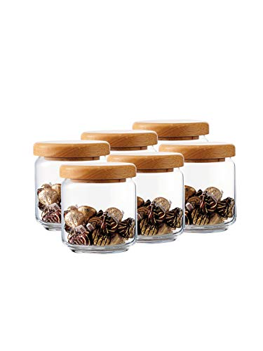 ocean pop jar 500 ml with Wooden lid Price & Reviews