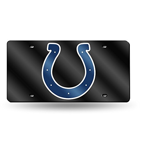 Indianapolis Colts Merchandise - NFL Indianapolis Colts Laser Inlaid Metal License Plate Tag
