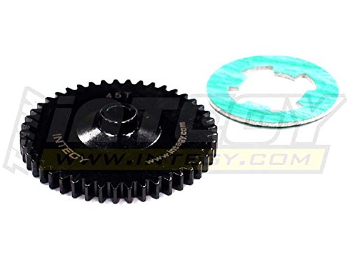 - Integy RC Model Hop-ups T6702 Billet Machined Steel Spur Gear 45T for HPI Savage Flux