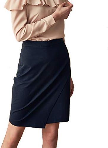 Faldas De Las Mujeres De Moda De Talle Alto Vintage Slim Fit Falda ...