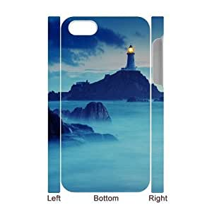 3D Bumper Plastic Case Of Lighthouse customized case For Iphone 4/4s hjbrhga1544