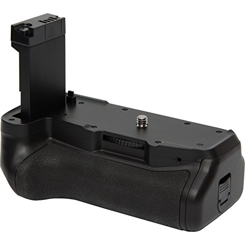 - Vivitar Deluxe Power Battery Grip for Canon Rebel T7i & EOS 77D DSLR Camera
