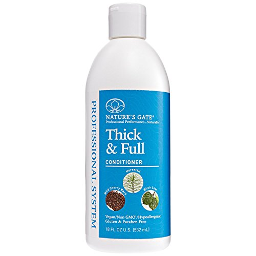 Nature's Gate Professional Thick & Full Conditioner (Conditioner Gate Volumizing Natures)