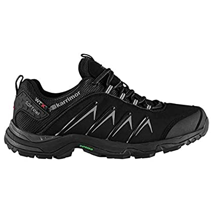 Karrimor Mens Surge Soft Shell WTX Walking Shoes Waterproof