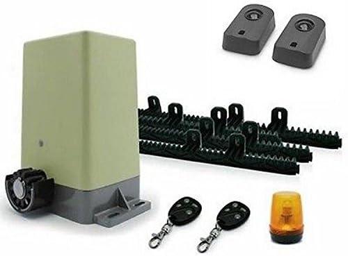 Motor de puertas correderas a distancia 1216294 Avidsen + Fotocélulas + 1 batería: Amazon.es: Iluminación