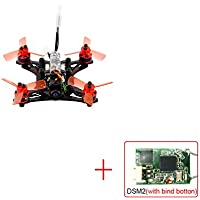 QWinOut kingkong/LDARC 90GT PNP Brushless FPV RC Racing Drone Mini Four-alxe Brushless Quadcopter With DSM/2 Receiver