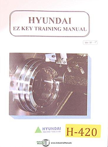(Hyundai EZ Key, CNC Lathe Training Manual)