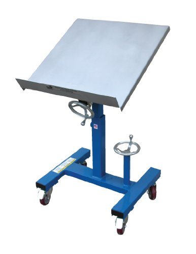 Vestil Mobile Tilting Work Table - 300-Lb. Capacity, 24in.L x 24in.W, Model# WT-2424 by Vestil