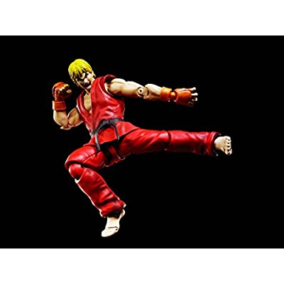 TAMASHII NATIONS Bandai S.H.Figuarts Ken Masters Street Fighter Action Figure: Toys & Games