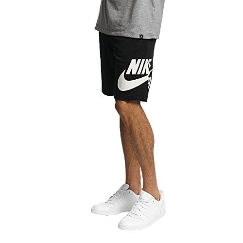 Nike Mens SB Dry Sunday Shorts Black/White 829603-010 Size Small
