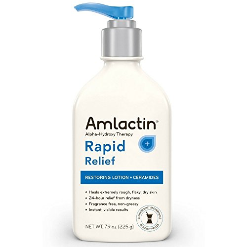 AMLACTIN Alpha-Hydroxy Ceramide Therapy Restoring Lotion, Fragrance Free 7.9 oz (Pack of (Amlactin Fragrance Free Moisturizer)