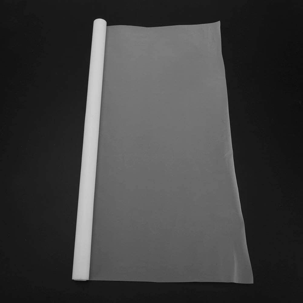 300mmx1000mm Thickness 0.1mm White PTFE Film Sheet with Corrosion Resistance High Lubrication for Easy Cleaning Water Pipe PTFE Film Sheet