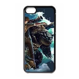 iphone5c Black phone case Pocket Monsters Pikachu Charmander Birthday gift Best Xmas Gift for Boy QBI4370501
