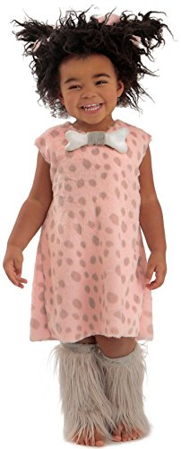 [Princess Paradise Baby Girls' Cavebaby Girl Deluxe Costume, As Shown, 18M/2T] (Cave Baby Girl Costumes)
