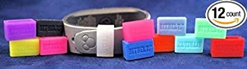 Bitbelt Jr 12 Pack one of Every Color for Disney MagicBand Child and Smaller Fitness trackers Fitbit Flex, alta, Garmin vivosmart